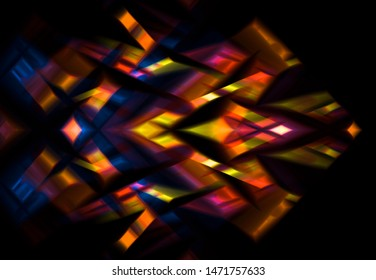 Abstract multicolored background with ornament. Beautiful illustration.