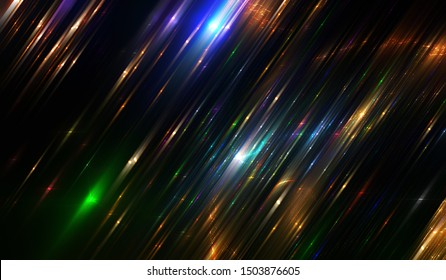 Abstract multicolored elegant background. Abstract background with glitter and diagonal lines. Effective illustration.