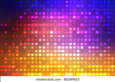 Abstract multicolored football or soccer backgrounds.Beautiful artistic flood lights