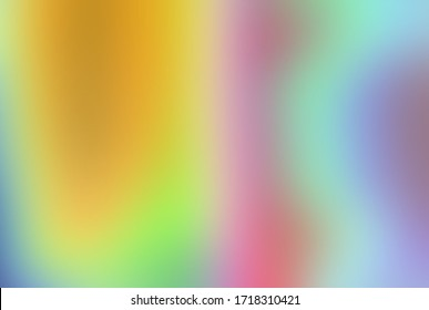 Abstract multi-colored yellow unfocused background. Transparent watercolor spots and lines. Background for web design.