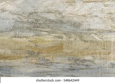 Abstract oil painted texture on canvas.