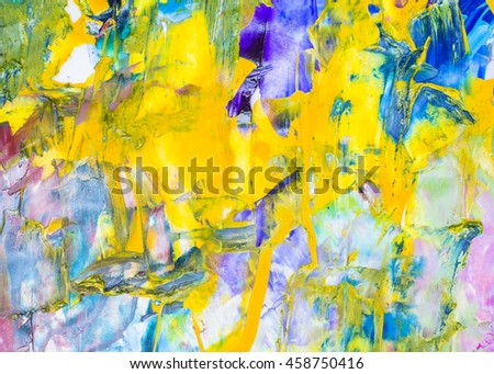 Royalty Free Stock Illustration Of Abstract Oil Painting Texture