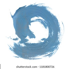 abstract oil stroke design on paper