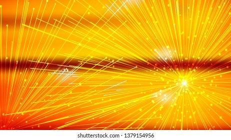 Abstract Orange Asymmetric Irregular Lines Background