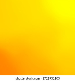 Abstract orange background. Square orientation. Color transition.