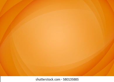Abstract orange background. Wavy abstract illustration.
