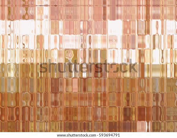 Abstract orange creative background. illustration digital.