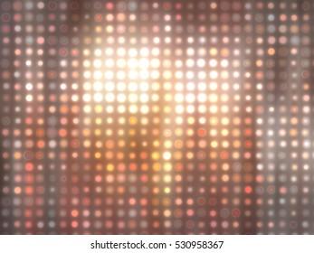 Abstract orange football or soccer backgrounds. light background. illustration digital.