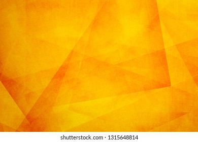abstract orange ploygon background