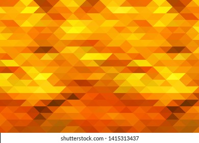 Abstract orange red mosaic background
