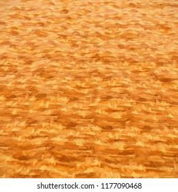 abstract orange surface- CG image
