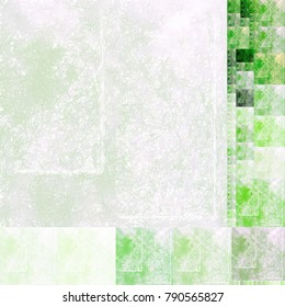 Abstract painted textured green and white background. Use for textiles, landscapes, spring, summer and eye-catching notepaper or advertising