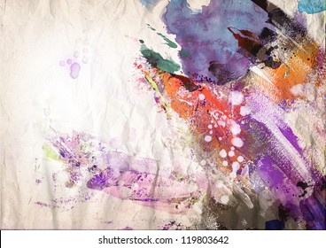 Abstract painting background