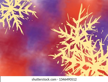 Abstract painting. Ink handmade image. Modern artistic pattern.