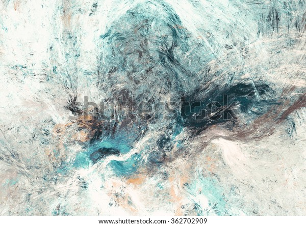 Soft Color Abstract Art