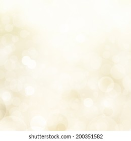 abstract pale yellow background white glitter lights, round shapes in geometric circle background, sparkling fantasy dream background, bright white festive bubble background, blurred bokeh lights