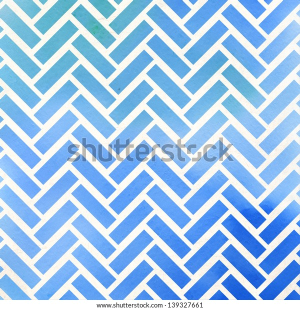 Abstract parquet background. Watercolor pattern.