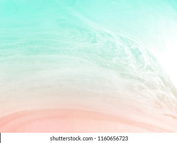 Abstract pastel marble bubble foam background. Summer beach background.