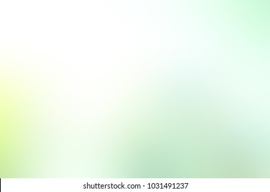Abstract pastel soft colorful smooth blurred textured background off focus toned in green and white color. Can be used as a wallpaper or for web design.