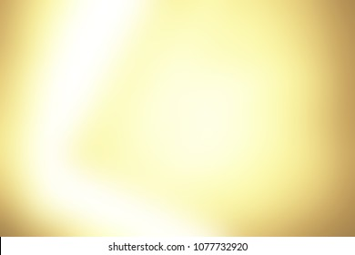 Abstract pastel soft colorful smooth blurred textured background off focus toned in yellow and gold color