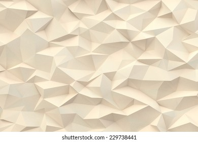 Abstract pastel triangles 3d background