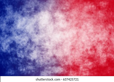 96b7cc2a Abstract patriotic red white and blue blur background for party  celebration, voting, July poster. Red White and Blue Tie Dye Fabric Sunray  Pattern