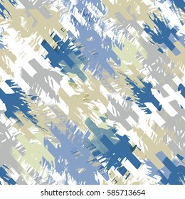 Abstract pattern with modern design. Camo background. Camouflage pattern with watercolor effect. Textile print for bed linen, jacket, package design, fabric and fashion concepts.