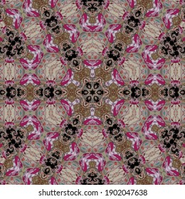 Abstract pattern texture design for background. 3d illustration art for website, user interface theme, cover photo, interior decoration idea, new trendy wallpaper, embroidery and batik concept