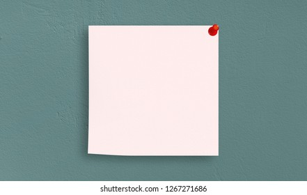 Abstract Pattern white note papers on Soft gradient pastel background in sweet color
