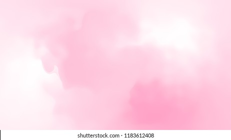 Abstract ping white soft cloud background in pastel colorful gradation.
