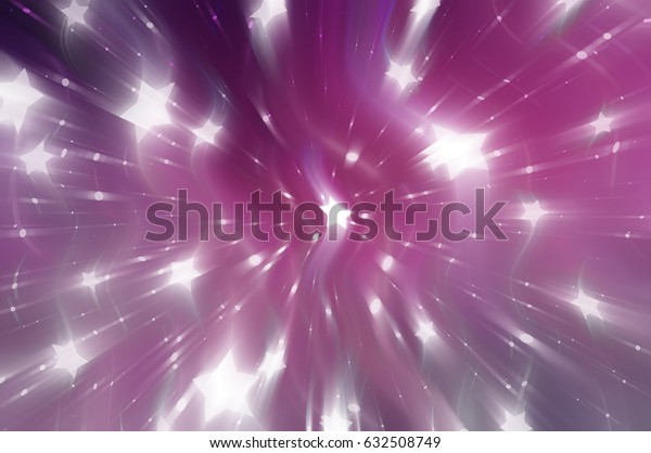 Abstract pink background. Explosion star. illustration digital.