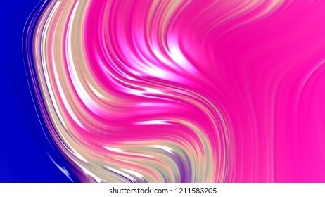 Abstract pink blue and purple gradient geometric texture background. Curved lines and shape with modern graphic design.