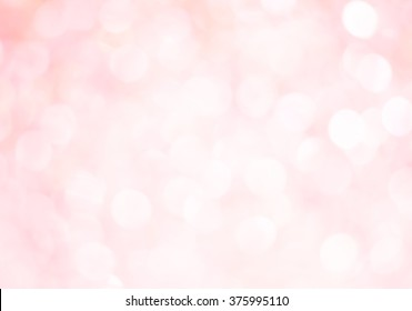 Abstract pink bokeh background