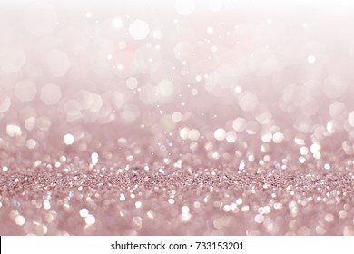 Abstract of pink bokeh light background