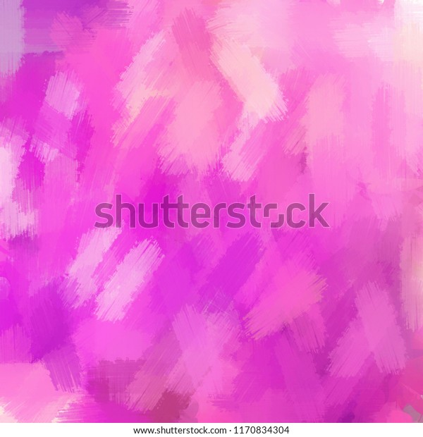 Abstract Pink Brushed Painted Art Background Stock