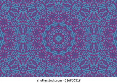 Abstract Fractal High Resolution Seamless Pattern Background Ideal