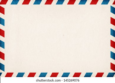 Abstract post envelope colorful background with copyspace