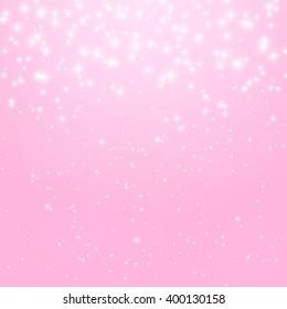 Abstract Princess Shiny Star Background Illustration.
