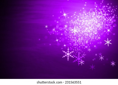 Abstract purple background for Christmas day