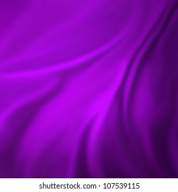 abstract purple background cloth or liquid wave illustration of wavy folds of silk texture satin or velvet material or purple luxurious background wallpaper design, elegant curvy material