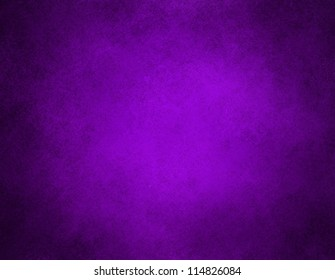 abstract purple background or purple paper with bright center spotlight and black vignette border frame with vintage grunge background texture purple paper layout design of light colorful graphic art