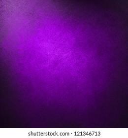 abstract purple background solid color, bright center spotlight, fine black vignette border frame, vintage grunge background texture purple pink paper layout design, light colorful graphic art