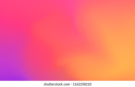 Abstract purple orange and pink soft cloud background in pastel colorful gradation.