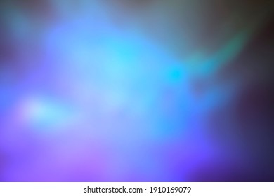 Abstract purple, turquoise and green blurred light background for mockups. Trendy creative gradient
