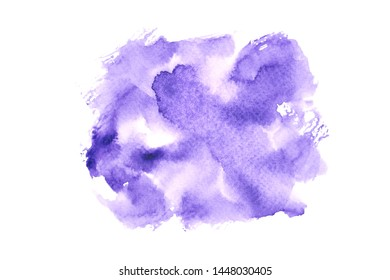 abstract purple watercolor paint background illustration texture design