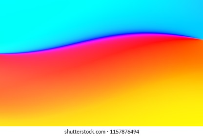 Abstract rainbow soft cloud background in pastel colorful gradation.