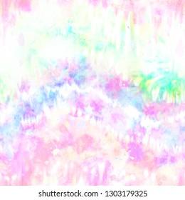 Abstract Rainbow Tie Dye