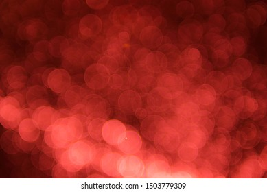Abstract Red background with bokeh, bokeh background, sparkle bokeh background