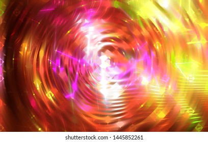 Abstract red background holidays lights in motion image. Illustration digital.