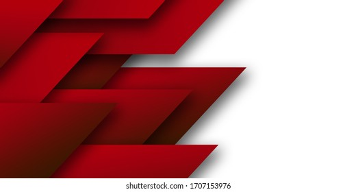 Abstract red black speed geometric technology design modern futuristic background